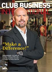 Club Business International Magazine Cover